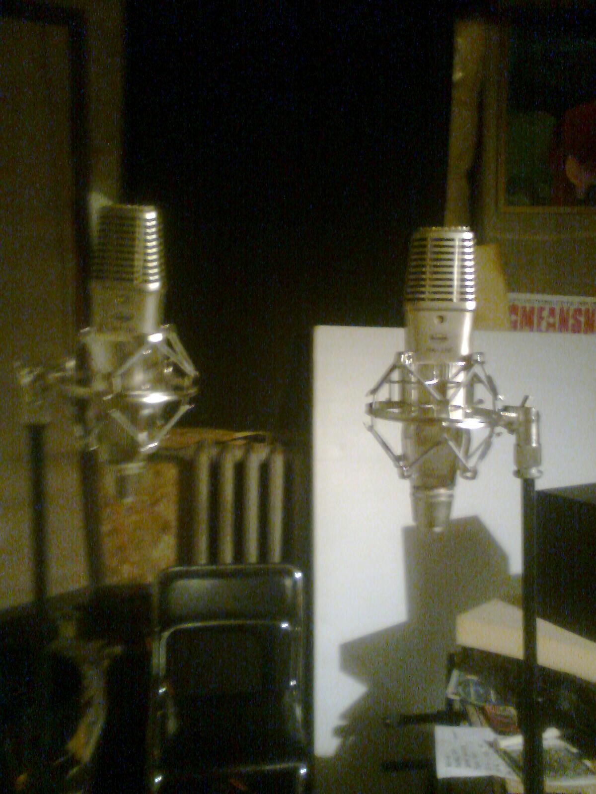 du mikrofonai